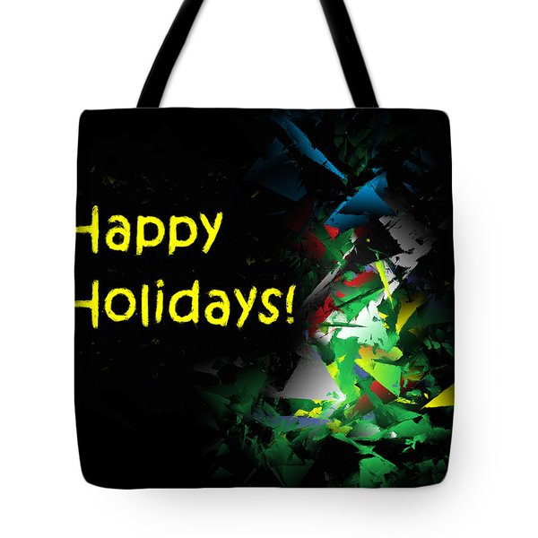 Happy Holidays - 2018-7 Tote Bag