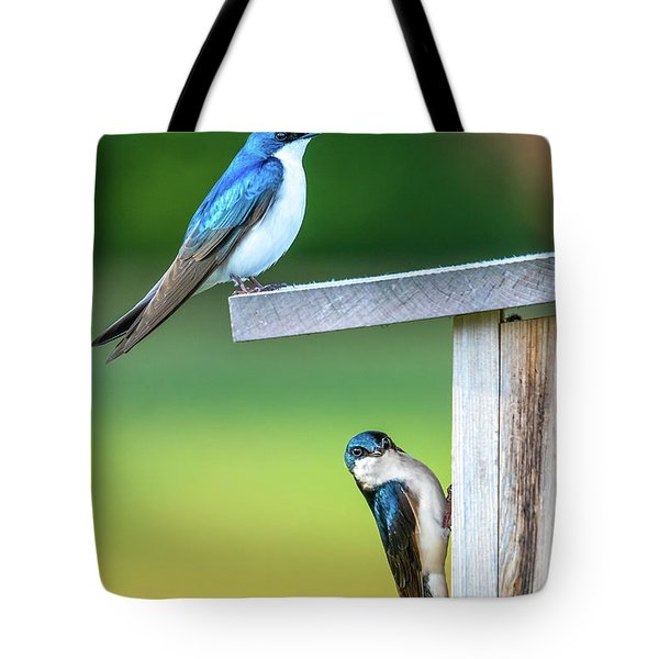 Happy Home Tote Bag