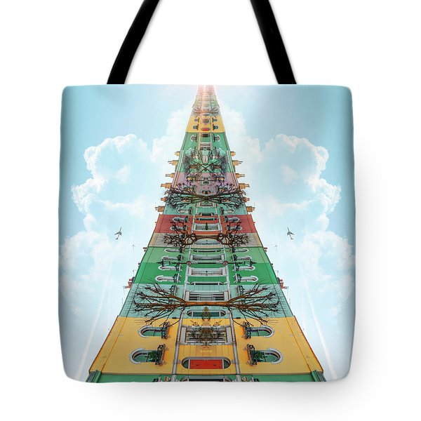 Happy House Dreams Tote Bag