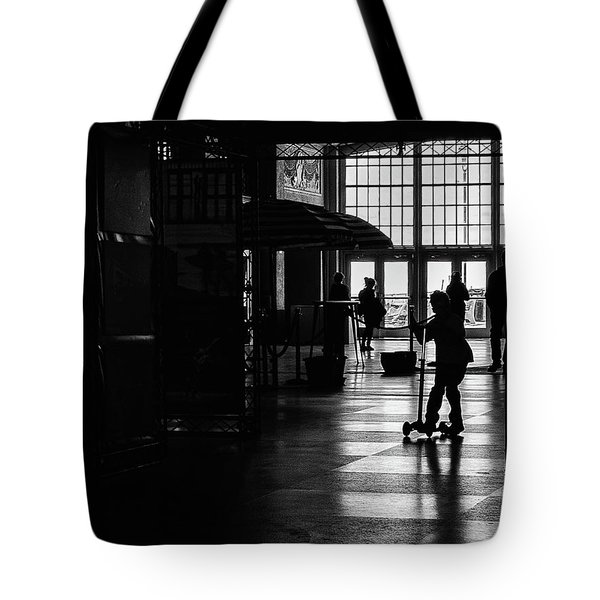 Tote Bag featuring the photograph Happy Kid by Steve Stanger