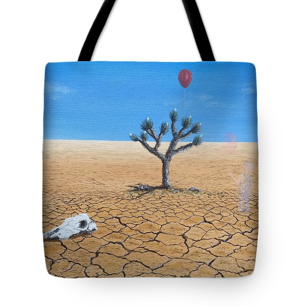 Tote Bag featuring the painting Happy Little Tree by Kevin Daly