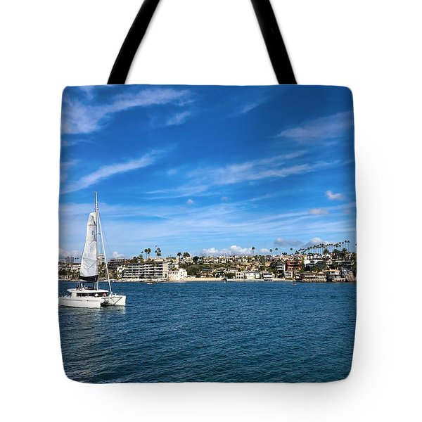 Harbor Sailing Tote Bag