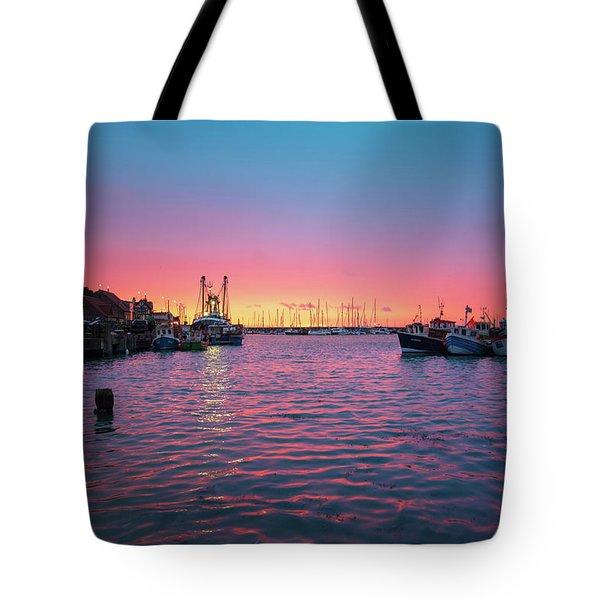 Harbour Lights Tote Bag