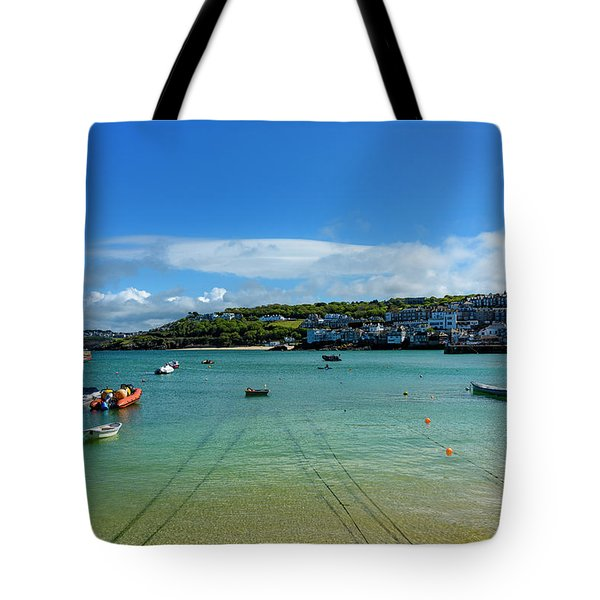 Harbour To Porthminster St Ives Cornwall Tote Bag