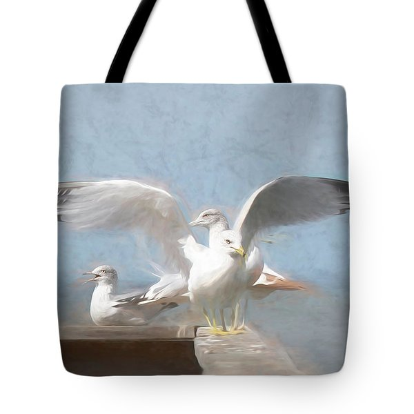 Harbour Watch Tote Bag