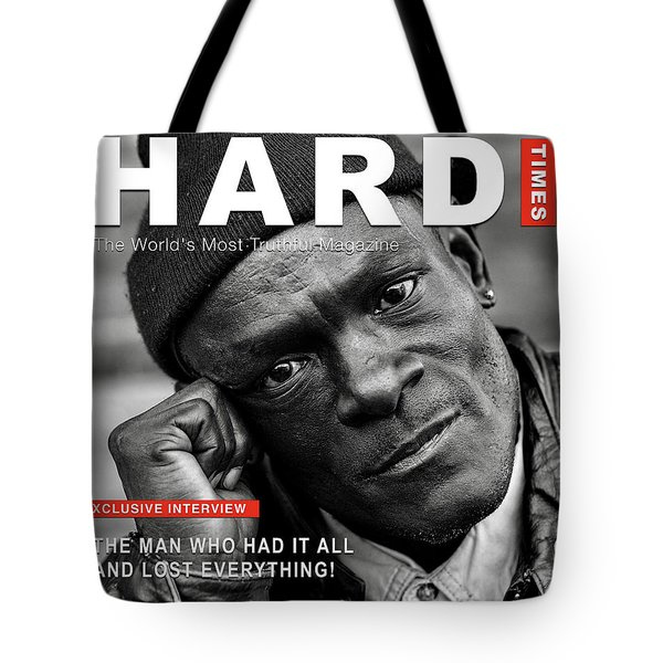 Hard Times Magazine Tote Bag