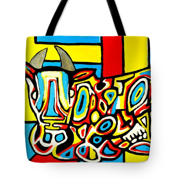 Haring's Cow Tote Bag