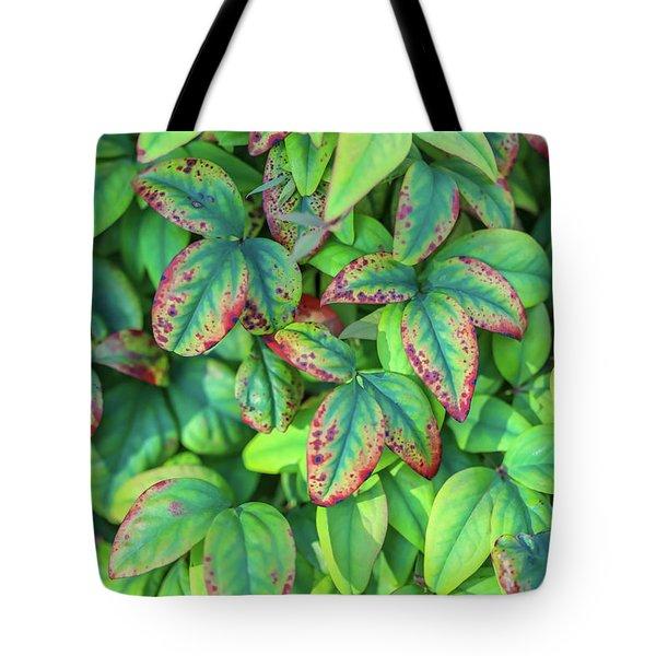 Harmony In The Garden Tote Bag