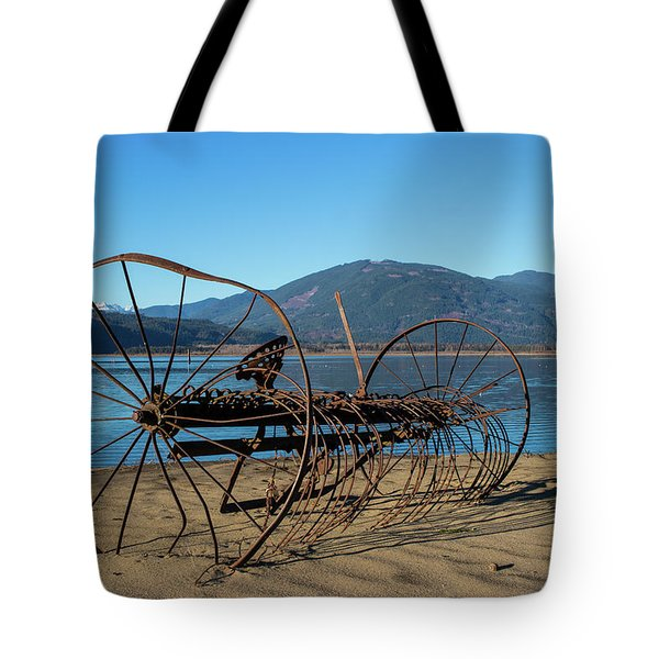 Harrison Lake Near Agassiz Tote Bag
