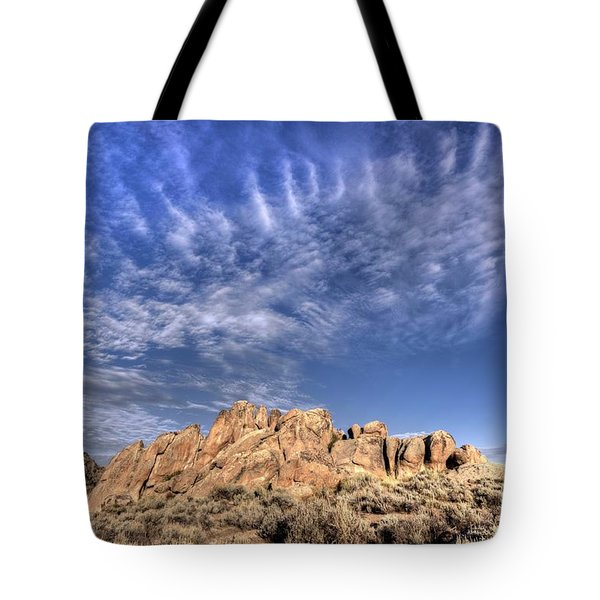 Tote Bag featuring the photograph Hartman Rocks by Joe Sparks