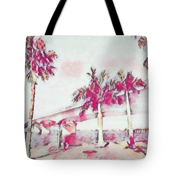 Harts Landing Sarasota Tote Bag