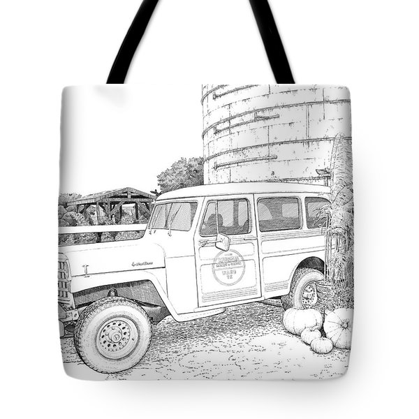 Harvest At Magnolia - Ink Tote Bag