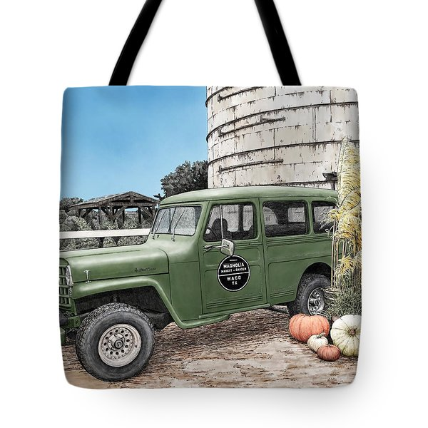 Harvest At Magnolia Tote Bag