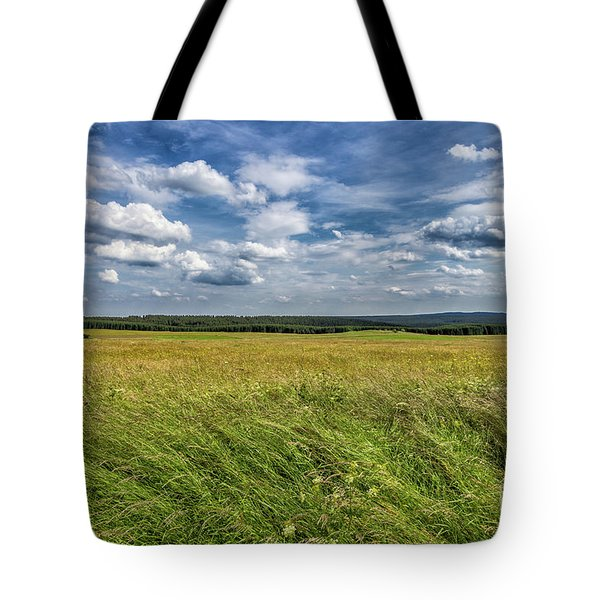 Tote Bag featuring the photograph Harz National Park by Bernd Laeschke