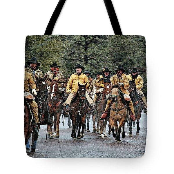 Hashknife Riders Tote Bag