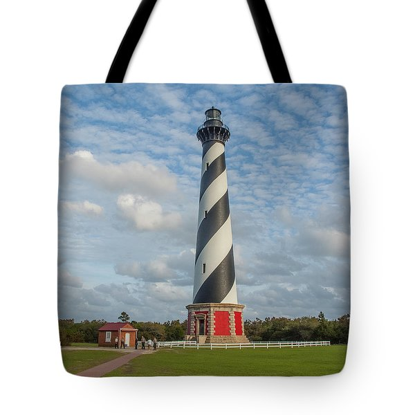 Hatteras Lighthouse Tote Bag