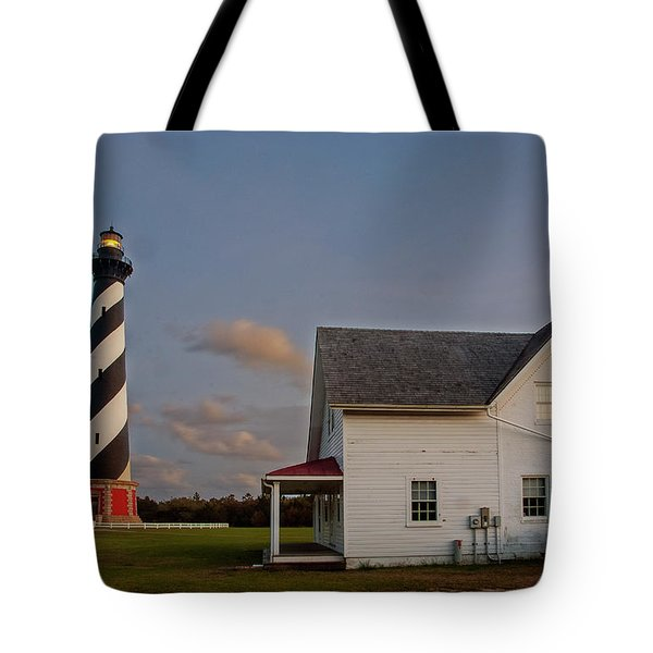 Hatteras Lighthouse No. 3 Tote Bag