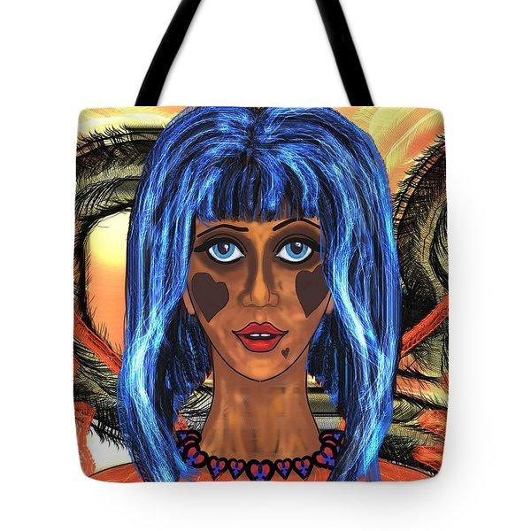 Haunted 3 Tote Bag