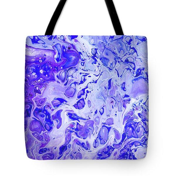 Hawaiian Blue Ginger Tote Bag