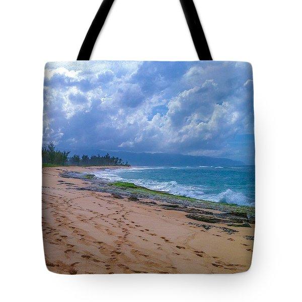 Hawaiian Clouds Tote Bag