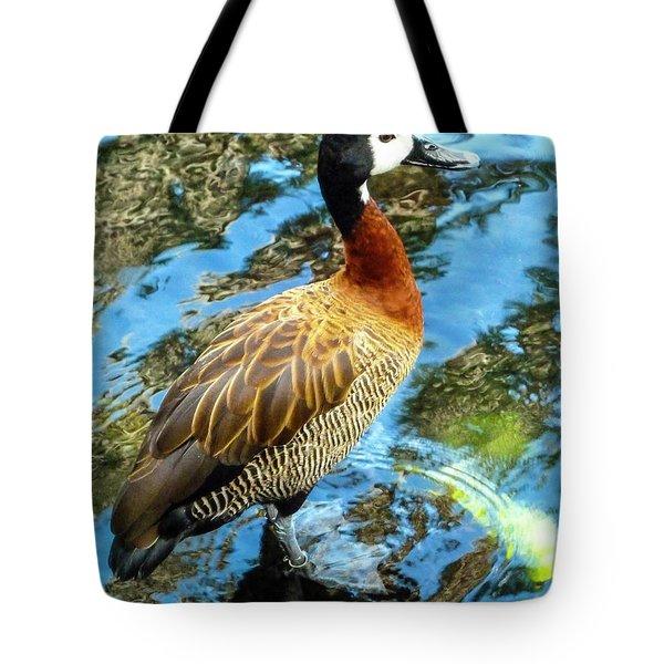 Hawaiian Duck Tote Bag