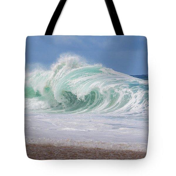 Hawaiian Shorebreak Tote Bag