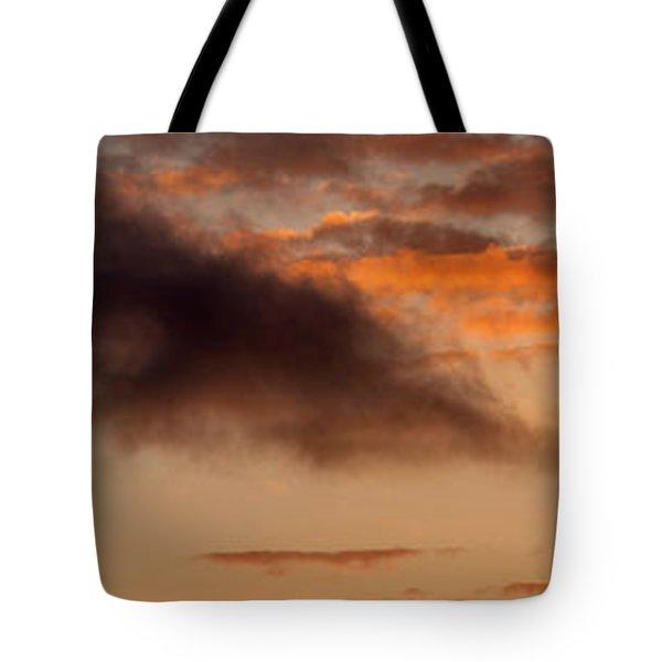 Hawaiian Sunset Vertical Panoramic  Tote Bag
