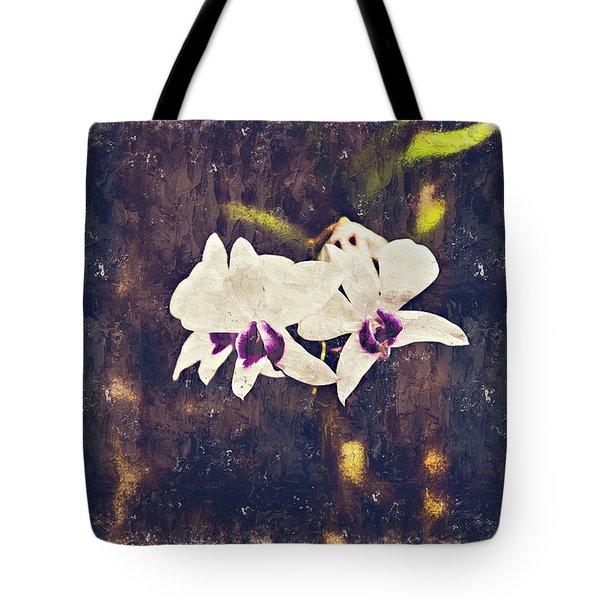 Hawaiian Tree Orchid Tote Bag