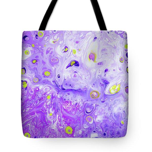 Hawiian Purple Princess Flower Tote Bag