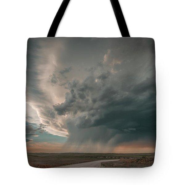 Hay Springs Ne Supercell Tote Bag