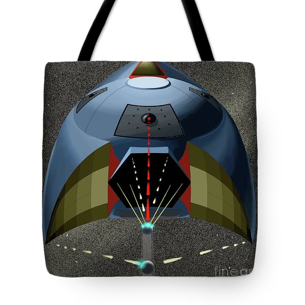 Head On Attack Tote Bag