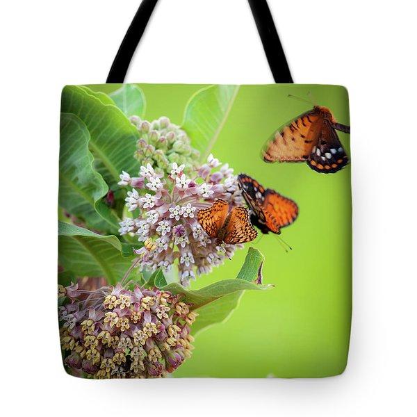 Head Over Heals For Milkweed Tote Bag
