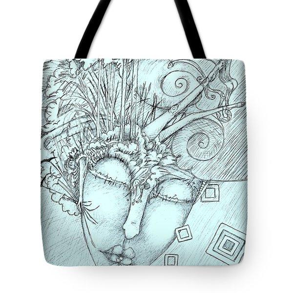 Head Over Heals Tote Bag