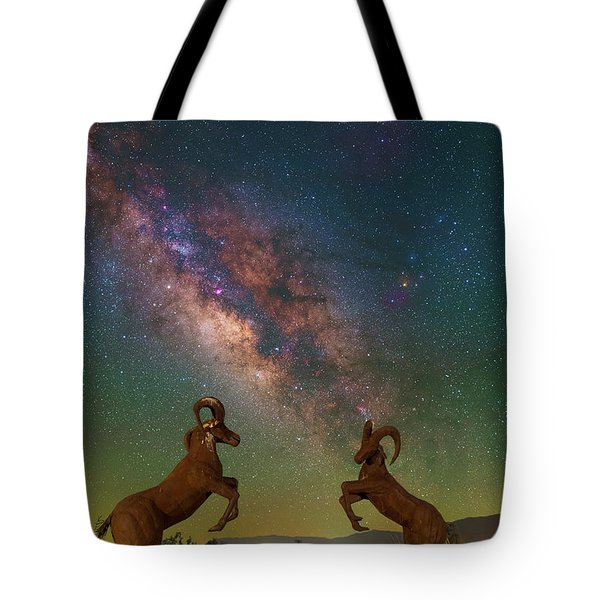 Head To Head With The Galaxy Tote Bag