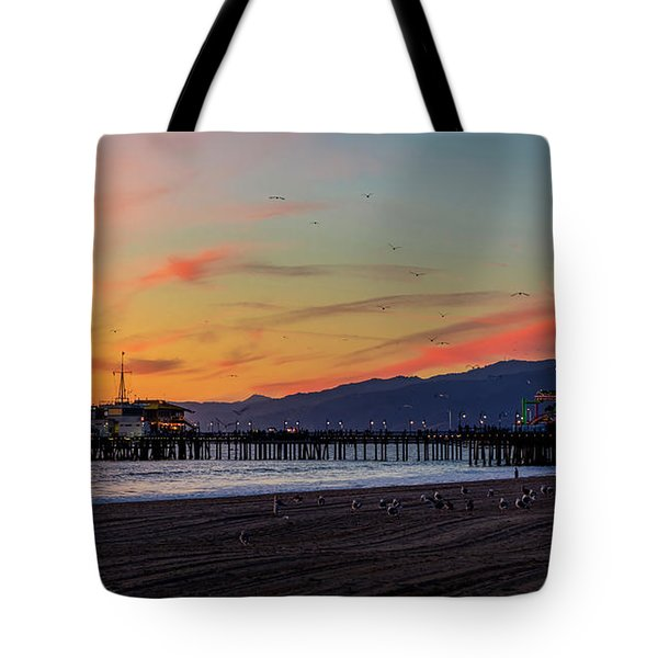 Heading Home At Dusk Tote Bag