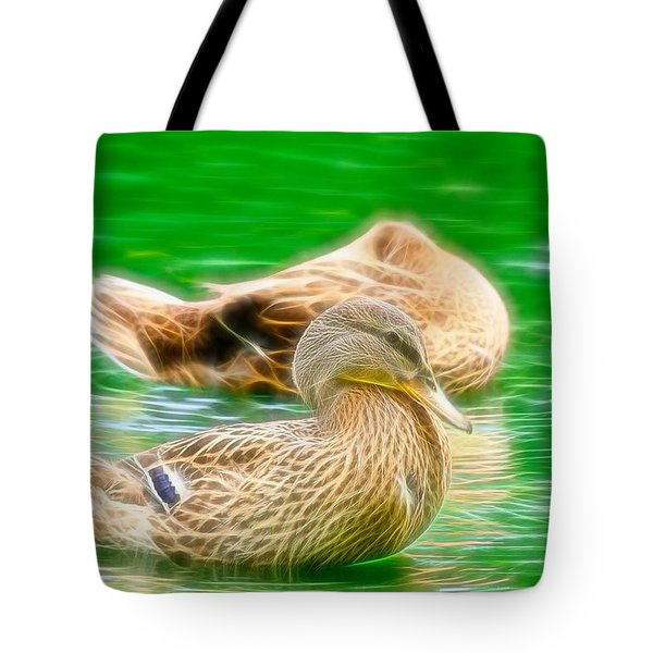 Headless Honey Duck Fibers Tote Bag