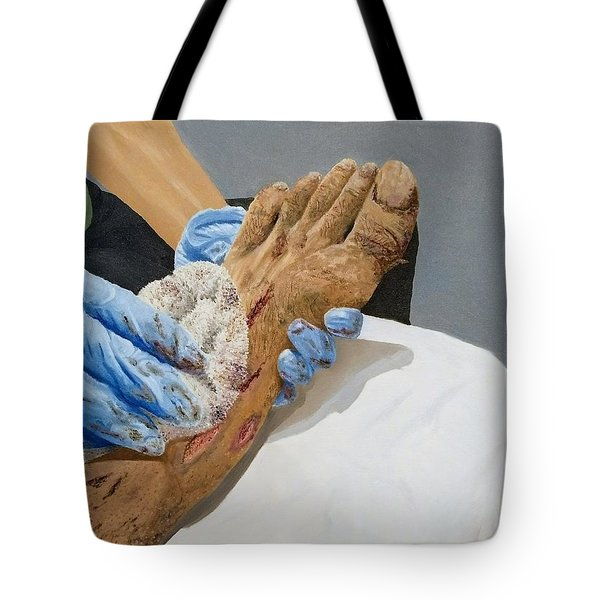 Healing Hands Tote Bag