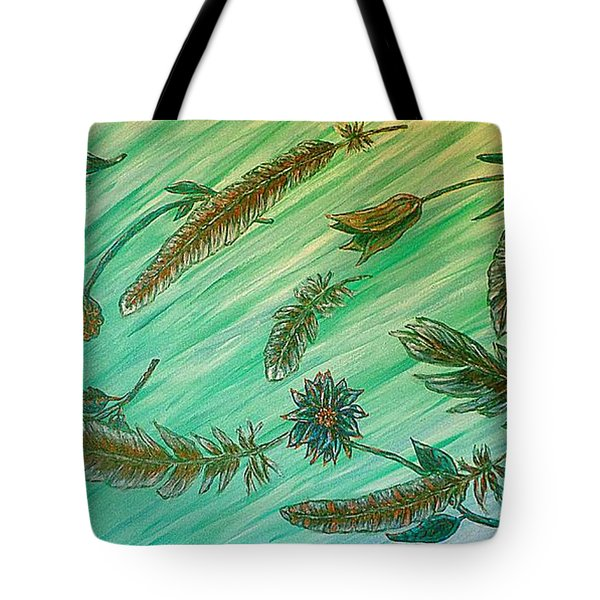 Healing Messages Tote Bag