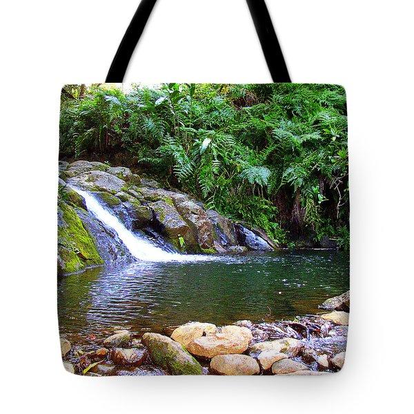 Healing Pool - Maui Hawaii Tote Bag
