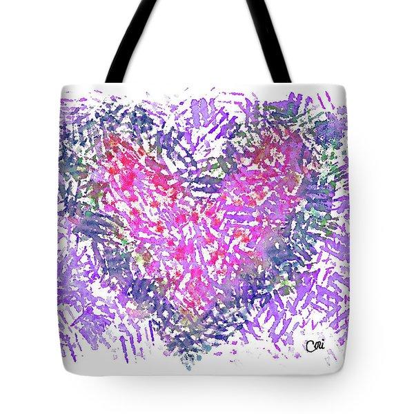 Heart 1007 Tote Bag