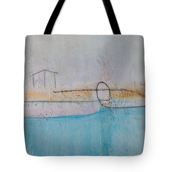 Tote Bag featuring the painting Heart Of The Home by Kim Nelson