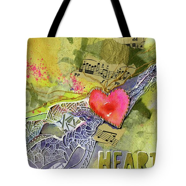 Heart Strings Tote Bag