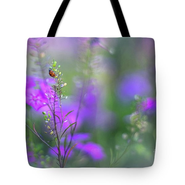 Heartsong In The Meadow Tote Bag