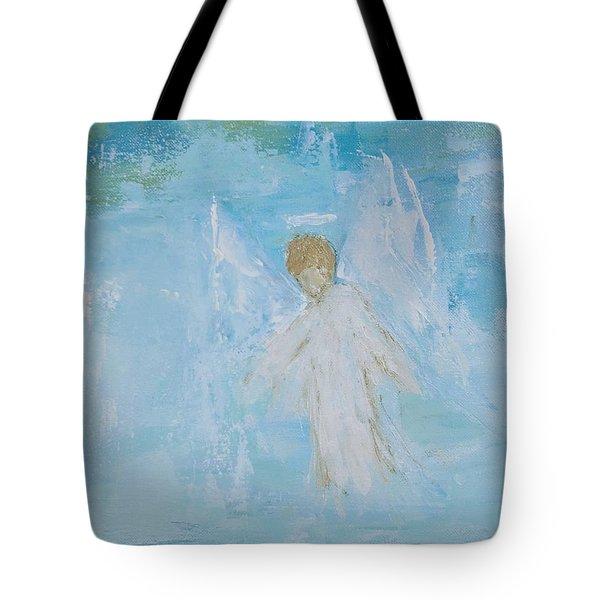 Heavenly Angel Child Tote Bag