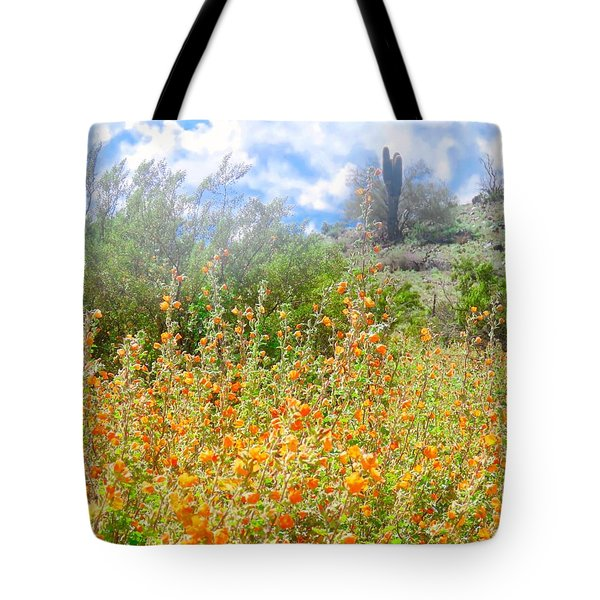 Heavenly Home In Arizona Tote Bag