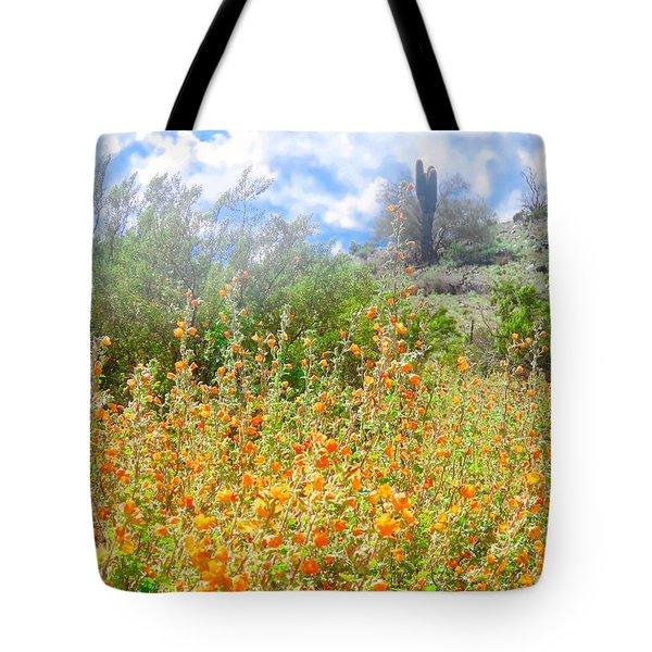 Heavenly Home In Arizona Tote Bag