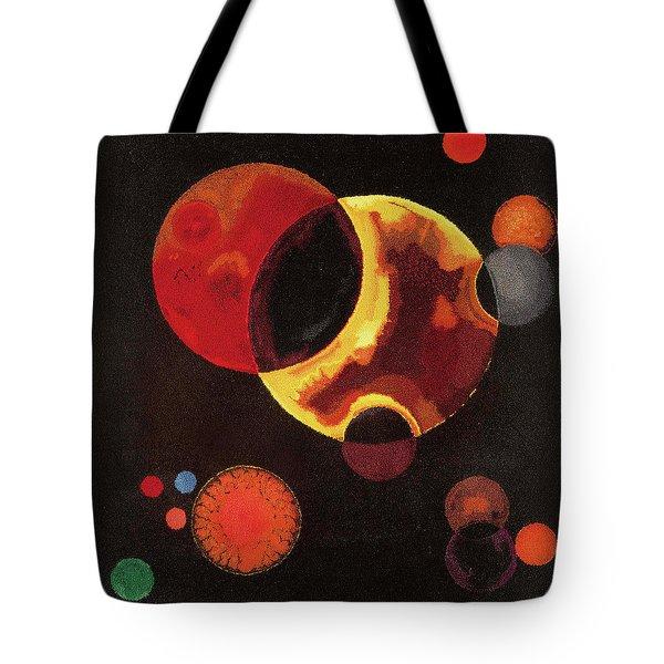 Heavy Circles Tote Bag
