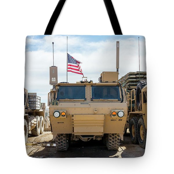 Tote Bag featuring the photograph Heavy Patriotism by SR Green