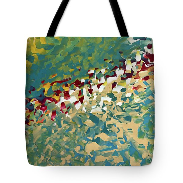 Hebrews 12 11. The Trials Of Discipline Tote Bag