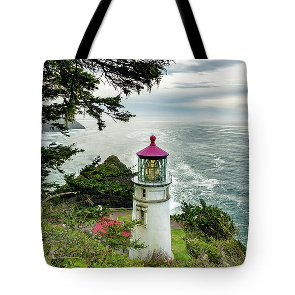 Heceta Head 2018 Lighthouse 2 Tote Bag